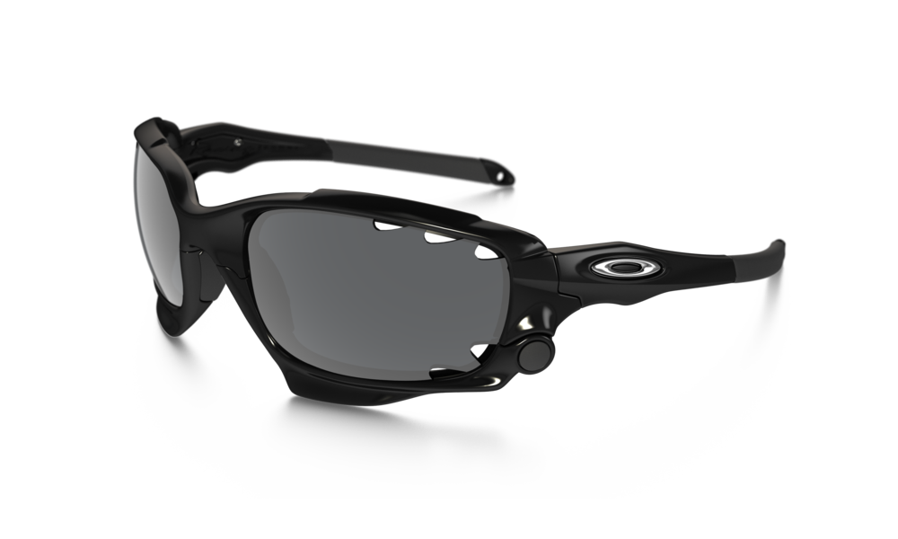 c49729cc6ea Prescription Oakley Racing Jacket. Polarized Rose-Copper lenses with Blue  Mirror.